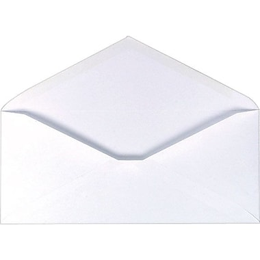 Staples® #6-3/4 Standard Business Gummed Envelopes, 500/Box