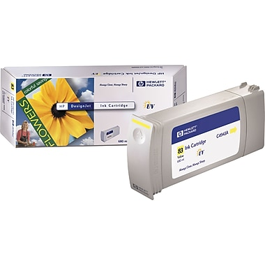 HP 83 Yellow Ink Cartridge (C4943A)