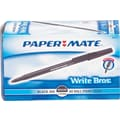 Paper Mate Write Bros® Stick Ballpoint Pens, Medium Point 1.0 mm, Black Ink, 60/Pack