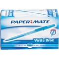 Paper Mate Write Bros® Stick Ballpoint Pens, Medium Point 1.0 mm, Blue Ink, 60/Pack