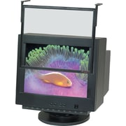 3M™ LCD/CRT Monitor 19-20 Anti-Glare Executive Glass Computer Filter, Black