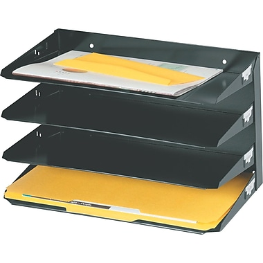 SteelMaster® Legal-Size Metal Horizontal Organizers
