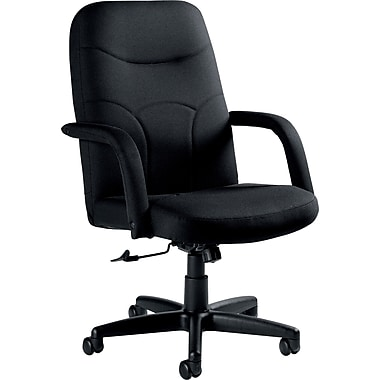 Staples Fuller  Fabric Managers Chair, Black