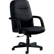 Staples® Fuller™  Fabric Managers Chair, Black