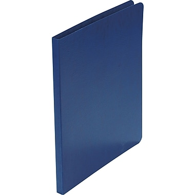 Acco Presstex® Grip Punchless Binders, Dark Blue