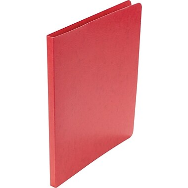 Acco Presstex® Grip Punchless Binders, Executive Red