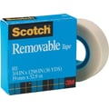 Scotch 811 Magic™ Removable Tape Refill Rolls - 3/4 in. x 36yd