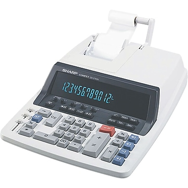 Sharp QS-2760H Commercial Printing Calculator