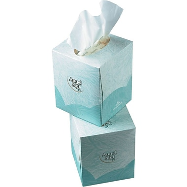 Angel Soft ps Facial Tissues, Cube Boxes, 2-Ply, 36/Case