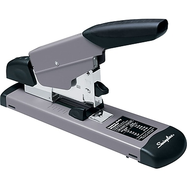 Swingline® Heavy-Duty Full Strip Stapler, 160 Sheet Capacity, Black/Gray