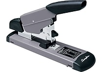 Swingline Heavy-Duty Full Strip Stapler, 160 Sheet Capacity, Black/Gray