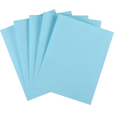 Staples® Pastel Colored Copy Paper, 8 1/2in. x 11in.,Turquoise, Ream