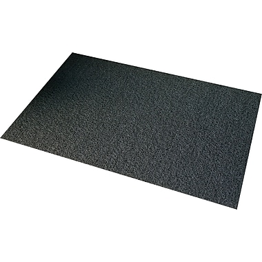 3M Vinyl-Backed Scraper Mats, Chestnut, 3' x 5', Each
