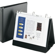 Avery 1-Inch Round Ring Easel Binder, Black (12880)