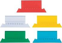 Staples® Plastic Tabs for Hanging File Folders
