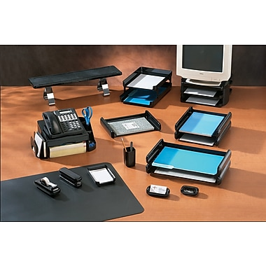 Rubbermaid® Image® Black Plastic  Desk Collection