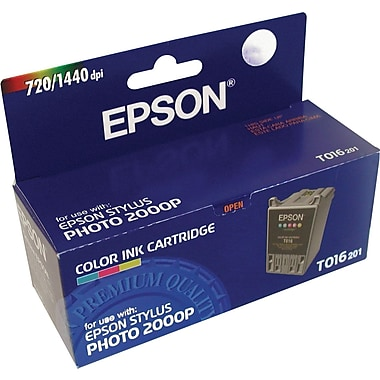 Epson T016 Color Ink Cartridge (T016201)