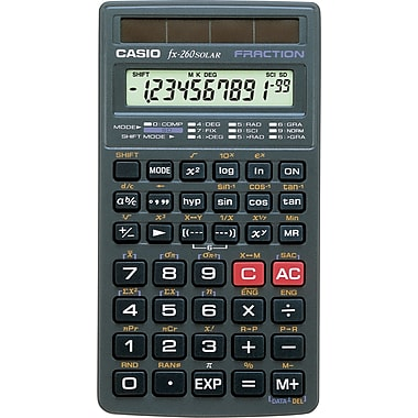 Casio® FX-260 Solar Scientific Calculator