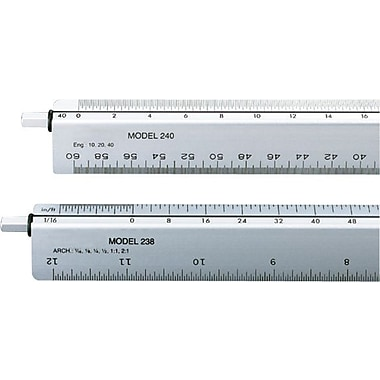 Chartpak® Adjustable Triangular Scale for Architects