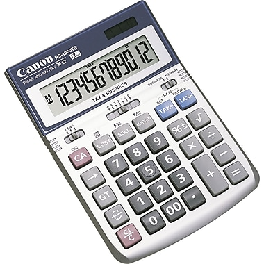 Canon HS-1200TS 12-Digit Display Calculator