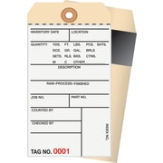 Staples® 2 Part Carbon Style Numbered Inventory Tags: 2,000-2,499, 500/Case