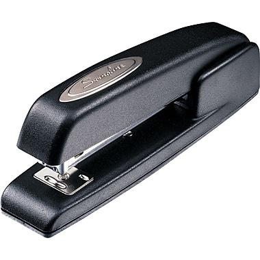Swingline® 747® Antimicrobial Business Full Strip Stapler, 20 Sheet Capacity, Black