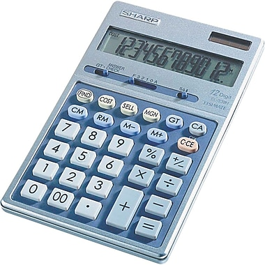 Sharp EL-339HB 12-Digit Display Calculator