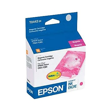 Epson T0443 Magenta Ink Cartridge (T044320)