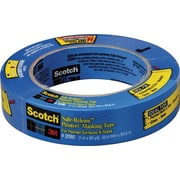 "Scotch® Safe Release™ Blue Masking Tape, 1"" x 60 yds"