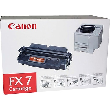 Canon® FX-7 Black Toner Cartridge (CNM7621A001AA)