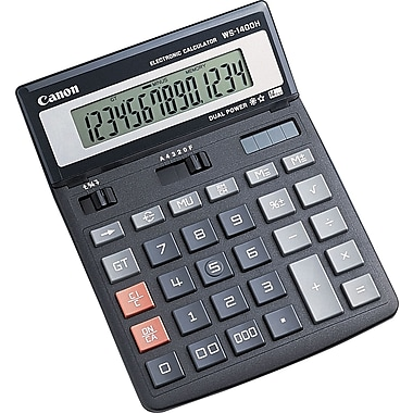 Canon WS-1400H 14-Digit Display Calculator