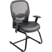 Office Star™ Matrex Guest Chair, Leather with Mesh