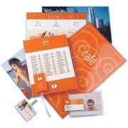 Staples® - Pochettes de plastification pour cartes d'affaires, 5 mil, paq./100