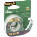 3M Scotch® Magic™ Tape with Refillable Dispenser, 3/4in. x 300in., 1in. Core