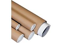 Staples® Kraft Mailing Tubes, 3' x 20', 24/Case