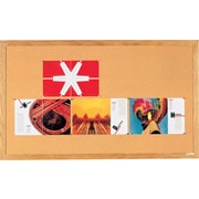 Quartet® – Tableaux d'affichage, cadre en chêne