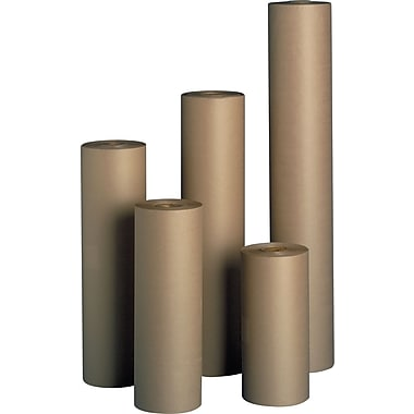 Staples Kraft Paper Rolls, 30-lb., 24in. x 1,200', 1 Roll