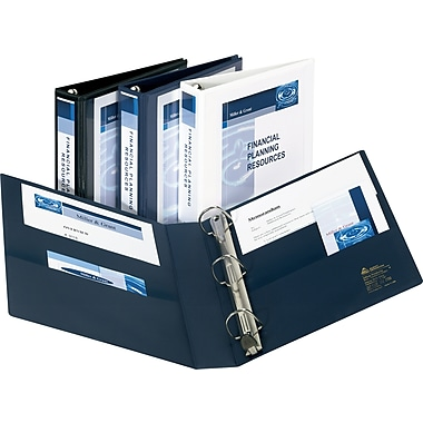 4in. Avery® Heavy-Duty View Binders with One Touch™ EZD® Rings