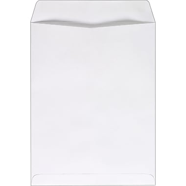 Staples® 10in. x 13in. White Wove Catalog Envelopes, 100/Box