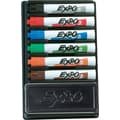 Expo® Dry-Erase Organizer Kit, Chisel Tip, Assorted Colors, 6/Pack