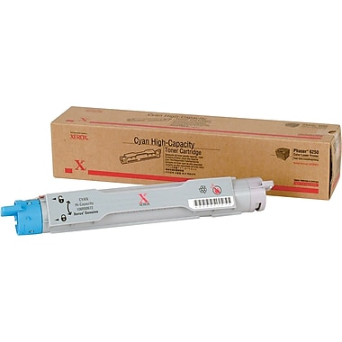 Xerox Phaser 6250 Cyan Toner Cartridge (106R00672), High Yield