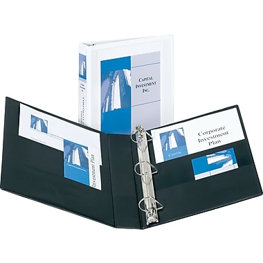 3in. Avery® Durable View Binders with EZD Rings