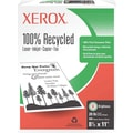 Xerox® 100% Recycled Multipurpose Paper, 8 1/2in. x 11in., Ream
