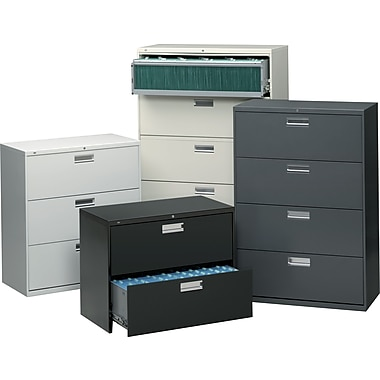 HON® Brigade™ 600 Series 42in. Wide Lateral File Cabinets