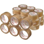 Staples® Natural Rubber Packaging Tape, Clear, 1.89 x 109.4 yds, 36 Rolls