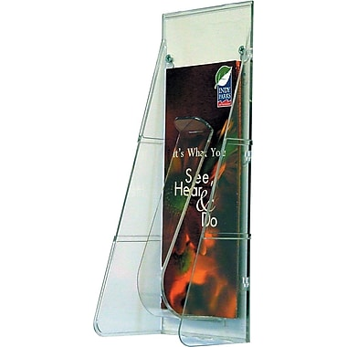 Deflecto Stand-Tall® Leaflet Size Pocket