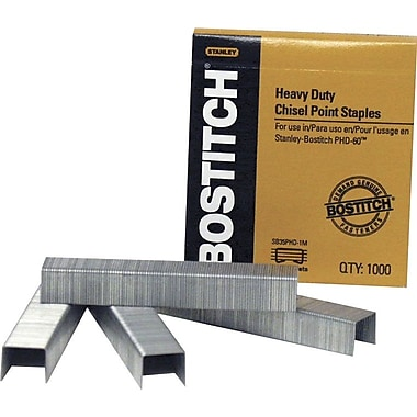 Stanley Bostitch® Personal Heavy-Duty Premium Staples, 13/32in.