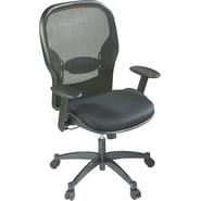 Space Seating Mesh/Fabric Mid-Back Manager's Chair