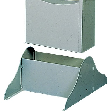 Durham Con-Tur® Vertical Literature Rack Base, Putty
