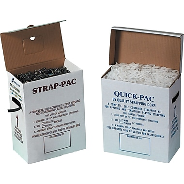 Staples® Postal-Approved Poly Strapping Kit, 3,000'